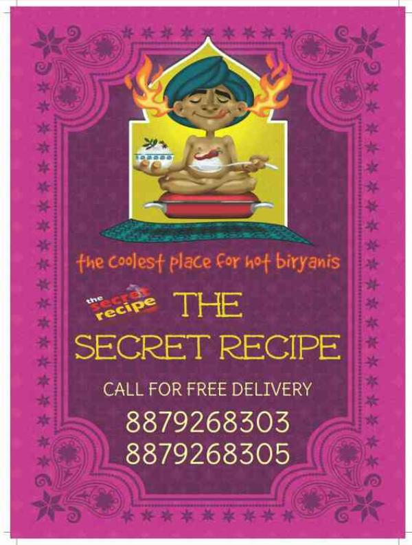Poster - by The Secret Recipe, Mumbai