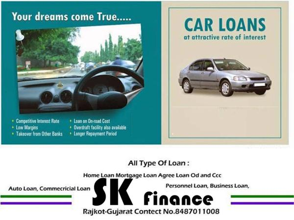 New and Old Car and Commercial Vehicle Loan - by SK Finance, Rajkot