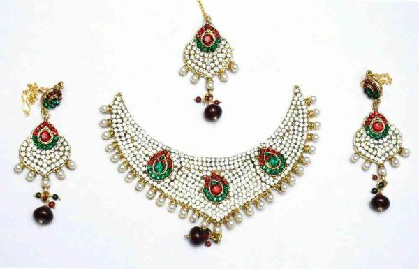 Stop by and Checkout our new #GoldPlatedStrandNecklaceSetCollection  #BestNecklaceSets #ImitationNecklaceSets - by Bridal Jewelry Collection, Visakhapatnam