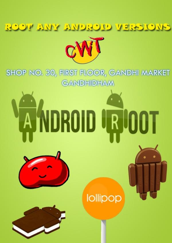 *ROOT *FLASH *UPDATE  ANY PHONE ANY BRAND - by cellworld technologies, Gandhidham