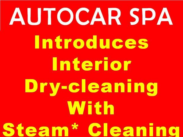 Autocar Spa introduces Interior Detailing with steam cleaning - by www.autocarspaa.in, New Delhi