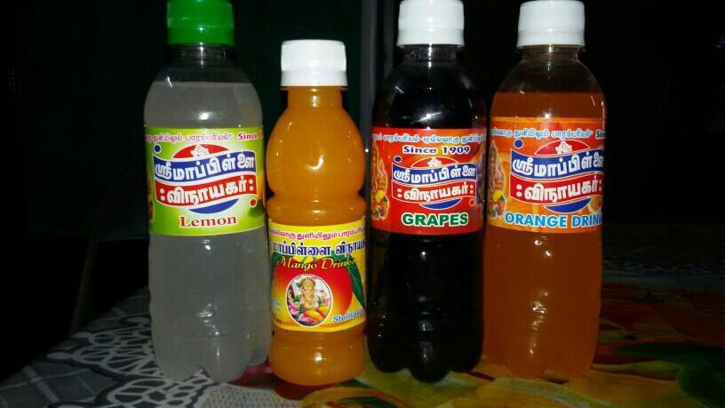products of Mappillai Vinayagar soda company - by Sri Mappillai Vinayagar Soda Company 9952028964, Dindigul