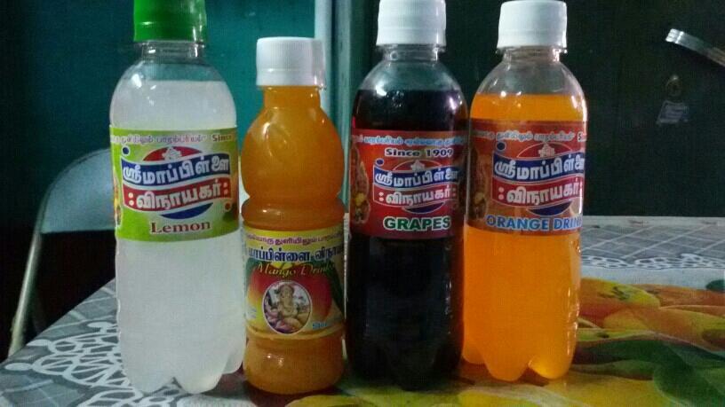 Paneer Lemon Grapes Orange flavours - by Sri Mappillai Vinayagar Soda Company 9952028964, Dindigul