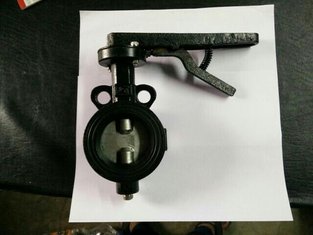 I S I MARK C. I. S. S. BUTTERFLY VALVE WE ARE MANUFACTURE RAJKOT - by Santoshi Engineering Works, Rajkot