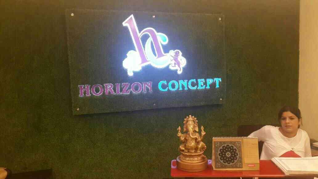 reception signage - by Aruna Global, New Delhi