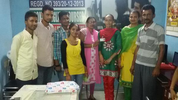 Miss Tamnna Star of month 07/06/2015 - by Naveen Education Institute, Jalandhar