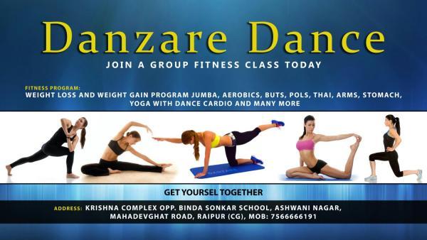 DANZARE DANCE STUDIO....................... - by Danzare Dance Studio, Raipur
