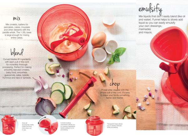 """We PANCHI BOUTIQUE also have with us """" Extra Chef"""" with which you can make your kitchen work more easy If you want to chop or whisk ingredients quickly and without using electricity, check out Tupperware's latest invention.  - by Panchi Spa, Udupi"""
