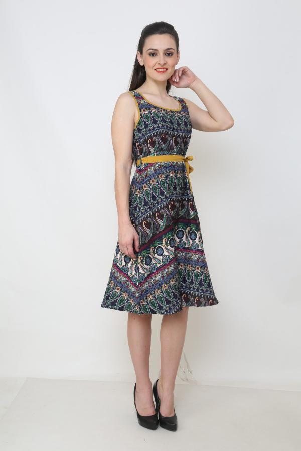 This dress comes on the top of our best selling category  http://www.flipkart.com/aardee-women-s-a-line-dress/p/itme6z7azzyxwrhv?pid=DREE6Z7APJZMFUV9& ref=L%3A657549473551240859& srno=p_13& query=aardee& otracker=from-search - by AarDee, Noida
