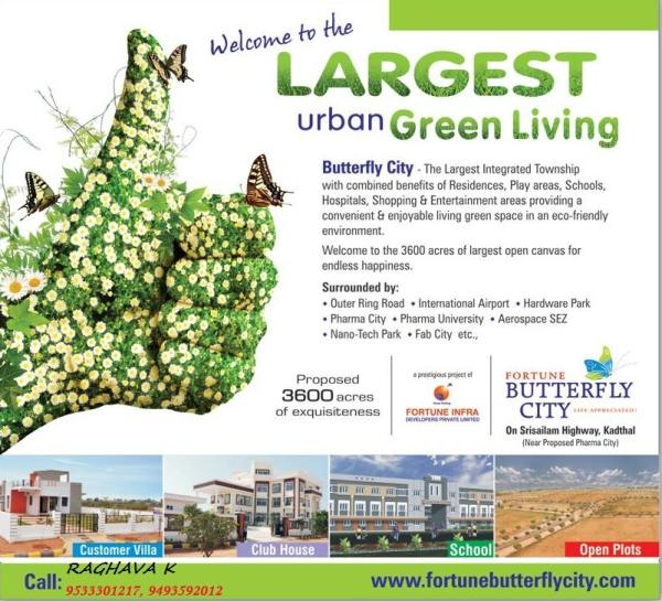 Fortune butterfly city brochure  - by fortune butterflycity, hyderabad