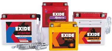 Best Price on Bike Batteries of Leading brands  like Exide and Amaron..!!! - by Srivenkateshwara Enterprises, hyderabad