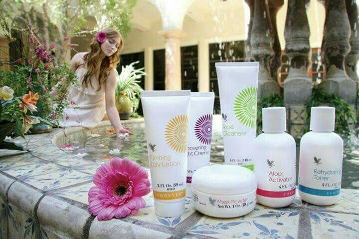 forever fleur de jouvence facial kit for those who want to beat fine lines after the age of 35 years. aloe enriches product rejuvenate the skin and make you youthful. - by forever living product's Distributor, bilaspur
