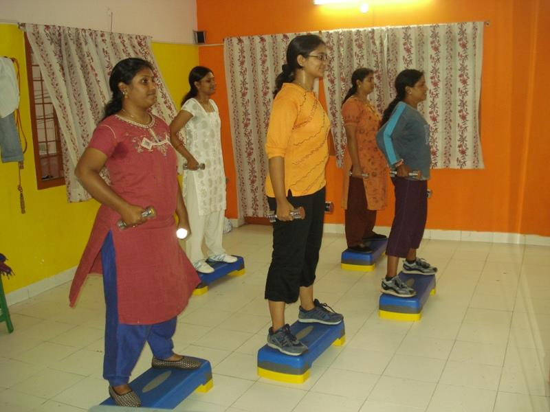 #Aerobic exercises improves body flexibility and healthy excitement of muscles, nerves and joints.   - by Nature Cure Hospital, Vishakhapatnam