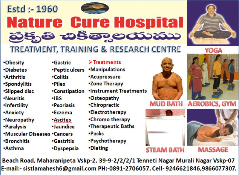 Any Problem One Solution #NatureCureHospital with best natural treatment.  - by Nature Cure Hospital, Vishakhapatnam