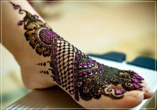 #FootMehendiDesigns to make your foot look stylish and trendy. - by Bridal Mehendi Designer, Visakhapatnam