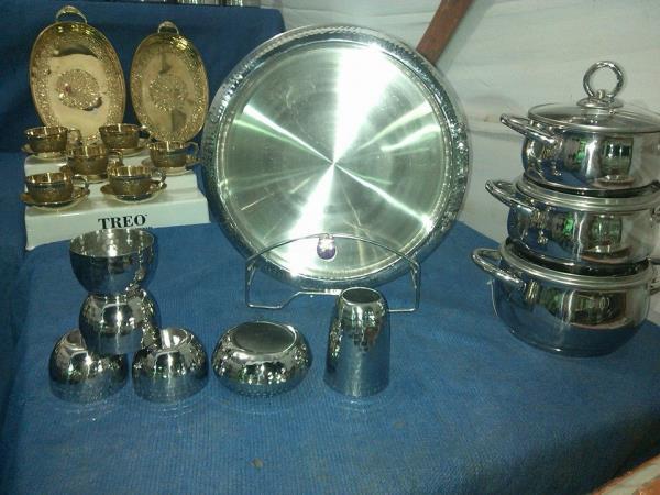 Krishna Steel And Crockery Surat.   Our Display in Fair. - by Krishna Steel and Crockery, Surat