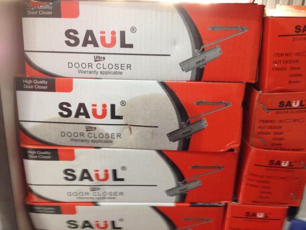 Saul door closer lifetime warranty on Rs.400 - by Mahadev Timber & Plywood, Ghaziabad