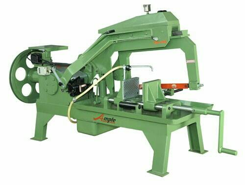 hydraulic hackshaw machine - by Able Engineering Co , Rajkot