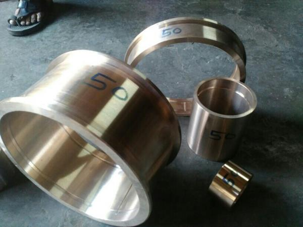 Our other products brass gum metal bushing..  we make genuine products of long time of machine which run of brass bushing - by Om Shiv Power Press, Rajkot