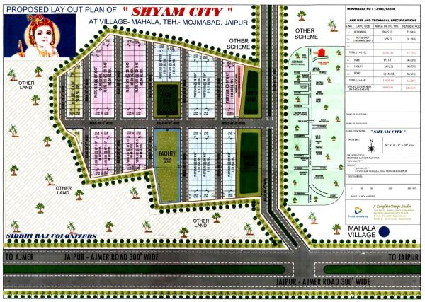 new site lunched at Mahla Ajmer road NH-8  GOVT. APPROVED (90-B) RATE-3700 - by RIDHI SIDHI BUILDESTATE, jaipur