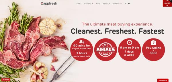 Cleanest. Freshest. Fastest. The ultimate meat buying experience ever! Meat Online. Chicken Online. Chicken Home Delivery. Fresh Fish Online. All your needs under one roof. Don't wait, just Zapp it! :)   http://www.zappfresh.com/  Zappfresh - by Zappfresh - Fresh Meat. Delivered, Gurgaon