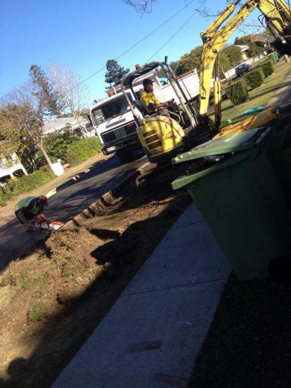 Avid Concrete Constructions also services earthworks and concrete cutting.  Make an enquiry with David today. - by Avid Concrete Constructions, Ipswich, QLD