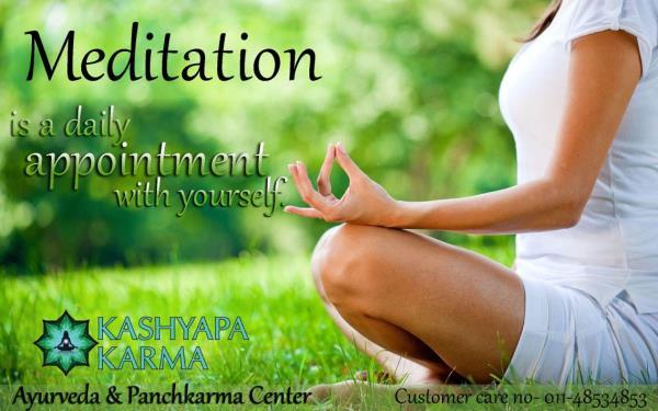 Meditation is supreme - by Kashyapa Karma, New Delhi