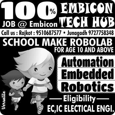 Automation  - by Embicon Tech Hub, Rajkot
