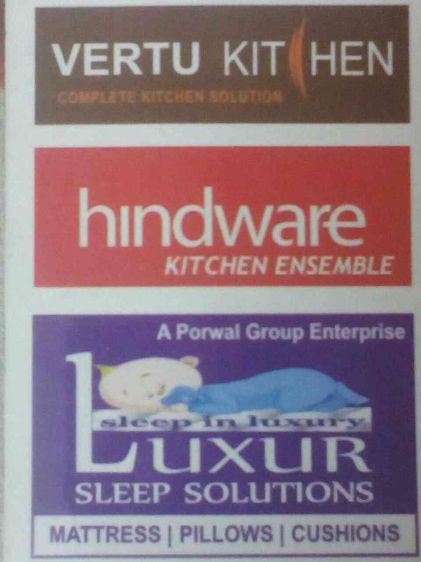 Authorised distributors of Vertu kitchen, hindware kitchen assemble & Luxur Sleep solution  - by Vastu Kalash, Indore