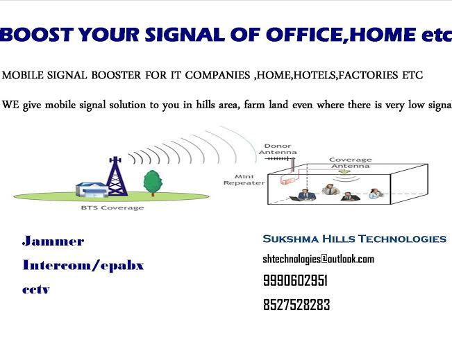 Unfortunately, dropped calls are a very serious problem for many people in this country, and even though carriers keep adding towers and expanding coverage areas, this problem is not going to change. So what can you do?Much research has bee - by Mobile Signal Booster|Sukshma Hills Technologies, delhi