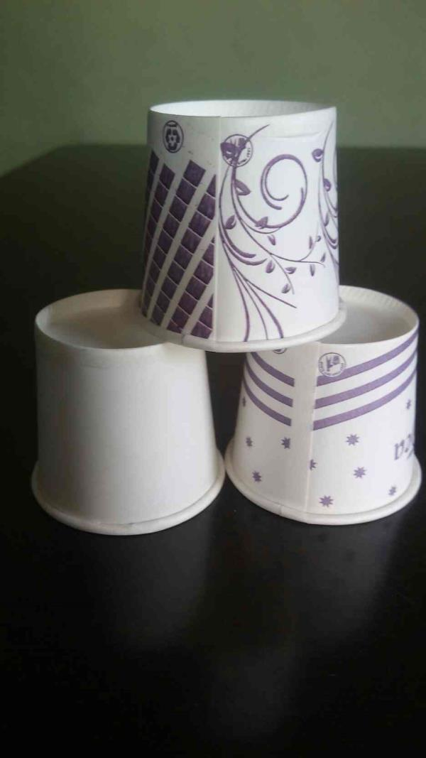 we are manufacturers of 65 ml tea paper cup in Rajkot. - by Shreeji paper products, Rajkot
