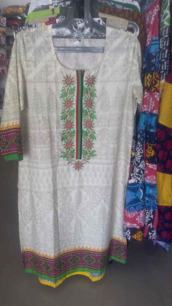 New model dress in our showroom - by Abi Priyaa's 9629728680, Dindigul