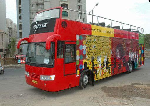 9. Hijackk Cafe, Ahmedabad - Tour The City While You Dine   It's the first of its kind state of the art Double Decker mobile bus restaurant in the state. The construction of the idea was done with an objective to provide a unique dining and - by Rodrigues Tour and Travels, PUTTUR