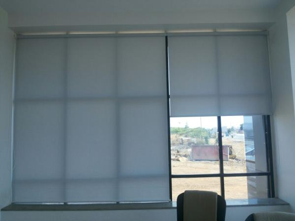 Roller Blinds most practical style of Window Shading  Roller Blind suitable for almost any part of office  comes with the choice of  Roller Blinds Block Out Fabric  Roller Blinds Screen 5% Openness Factor  Roller Blinds Screen 3% Openness F - by Srilakshmi Enterprises Roller Blinds Dealers in Bangalore, Bangalore