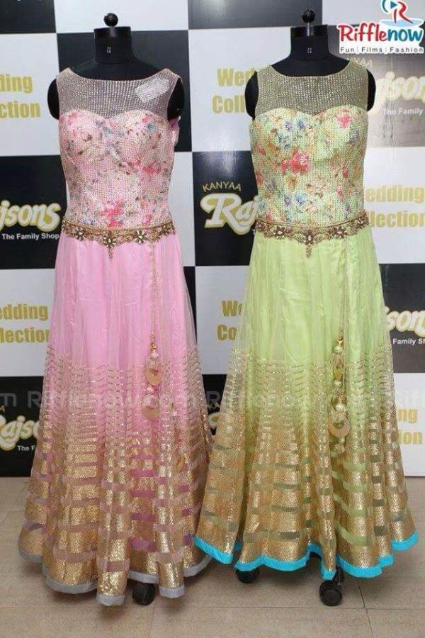 #bridalwear #weddingcollection #designer outfit. Get the  complete range of designer wear @ Kanyaa Rajsons Banjara Hills Rd 12/ Basheer Bagh - by Kanyaa Rajsons, Hyderabad