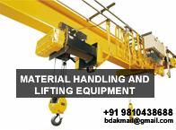 We are also authorized dealer and a supplier for some of prestigious brands includes MAHADEV, KEPRO, LIFTBOY, DIAMOND, METRO and GARWARE read more detail...http://www.balkishandass.com/  EOT Cranes in india,  EOT Cranes in delhi,  EOT Crane - by Material Handling and Lifting Equipment in Delhi|Balkishan Dass, delhi