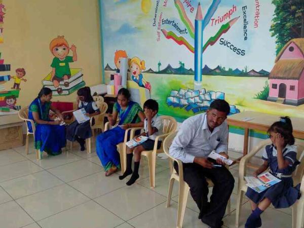 School Camp. - by AG Eye Hospital, Madurai