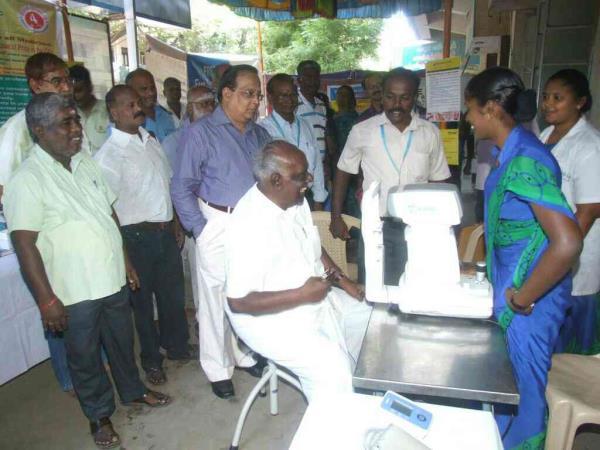 computerized eye testing - by AG Eye Hospital, Madurai