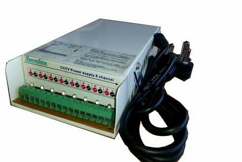 cctv power supply in best rate with power protection and  - by Spell Infotech, Rajkot