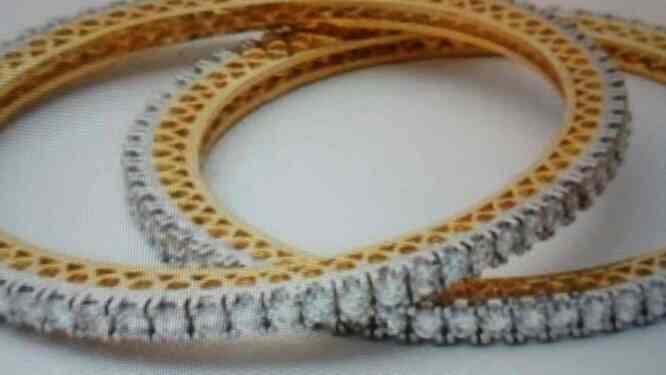 we are prime supplier of Imitation diamond bangles in Rajkot - by S.P.Imitation Jewellry, Rajkot