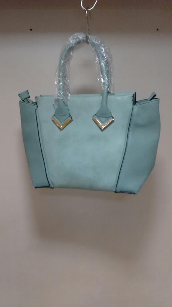 Aqua Blue Ladies Bag - by Mumbai Ladies Bags, Mumbai