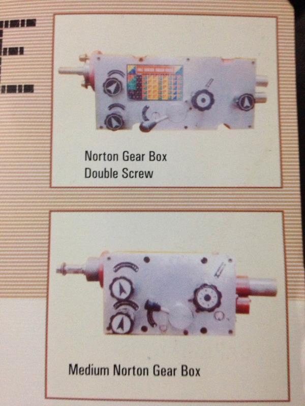 Nortan gear box manufacturers in rajkot - by Kiran Machine Tools, Rajkot