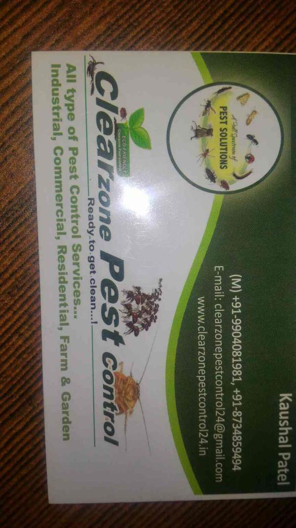 plz contact clearzone pest control in ahmedabad  - by Clearzone Pest Control , Ahmedabad
