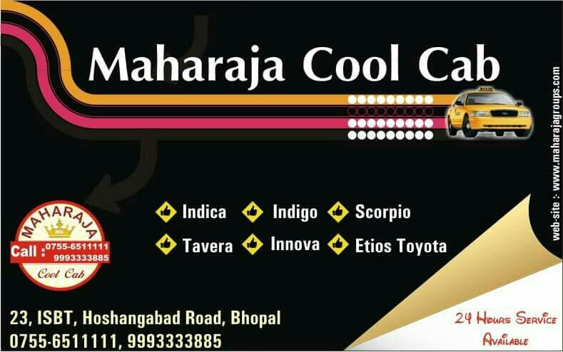 Taxi Service in Bhopal - by Maharaja Cool Cab, Bhopal