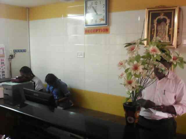 Jayam Hospital Reception. - by Jayam Hospital, Madurai