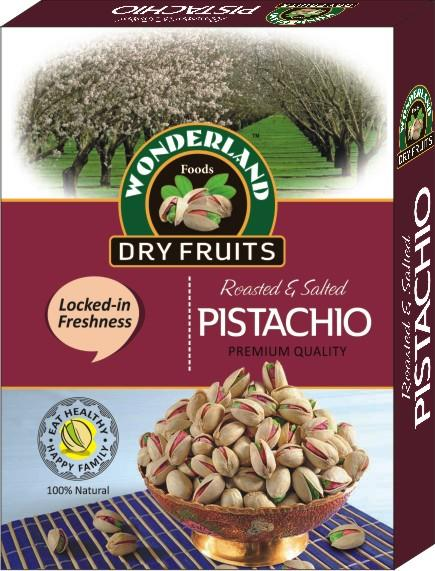 Eat Healthy. Be Healthy. Pistachio helps and support a Healthy Heart and are on of the Most Nutritious Nuts.  Wonderland Foods - Roasted Pistachio Packs in Delhi - by Wonderland Foods, Delhi