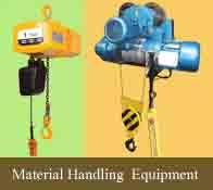'Matrial Handling' manufactured electric hoists deliver a large range of products for industrial applications – including electric chain hoists, electric wire rope hoist and electric belt hoist, Century Electrical Hoist is outcome of latest - by Material Handling and Lifting Equipment in Delhi|Balkishan Dass, delhi