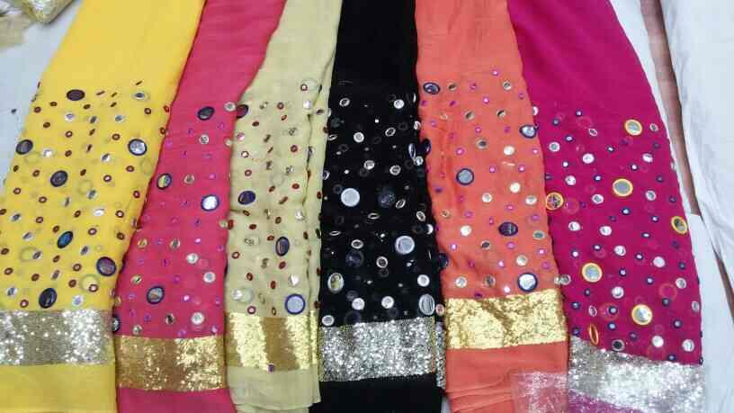 This fancy fabric  is uses for Langar, garage services, and tops, saree  also - by HaripriyaFabs, Secunderabad