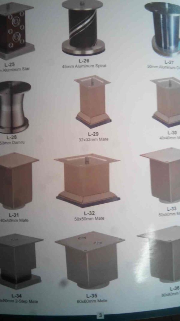 Sofa Leg Manufacturers in Rajkot - by Brahmani Industries, Rajkot