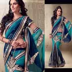 we have wide range of functional sarees in aurangabad - by Sheetal Wears, Aurangabad